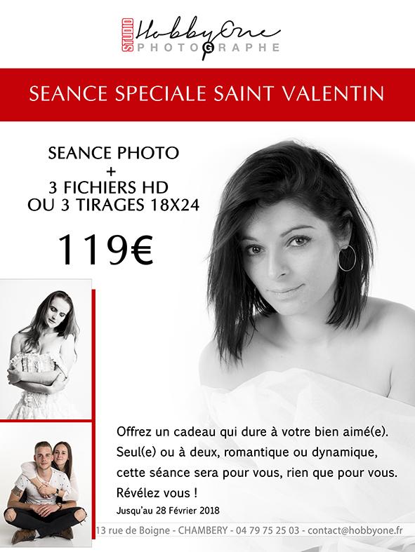 Saint Valentin Offre photographe Hobby One